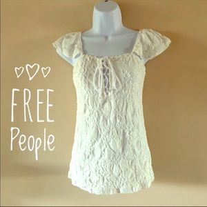 Free people Pop-over Rag Top